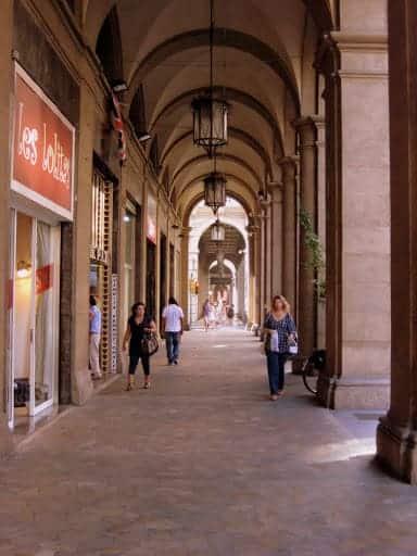 Bologna Italy Porticos