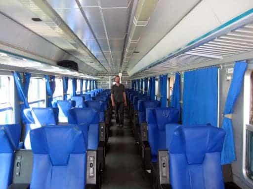 First Class Train Seats
