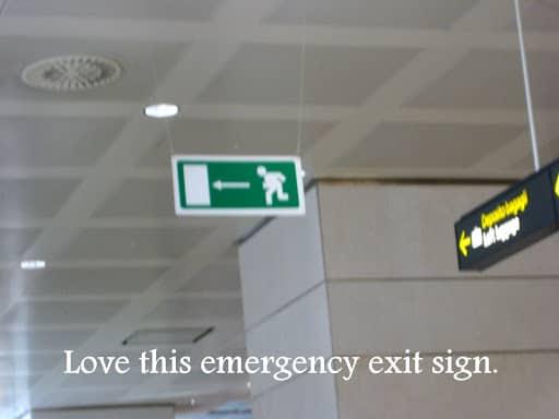 Italy Emergency Exit