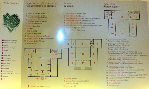 borghese-gallery-map
