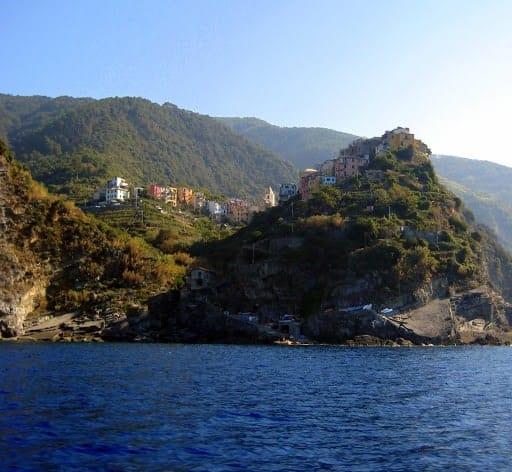 corniglia-italy-from-ferry