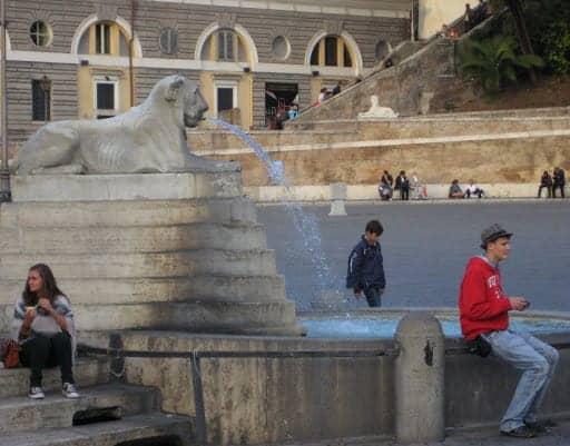 roman-fountain