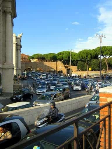 rome-traffic