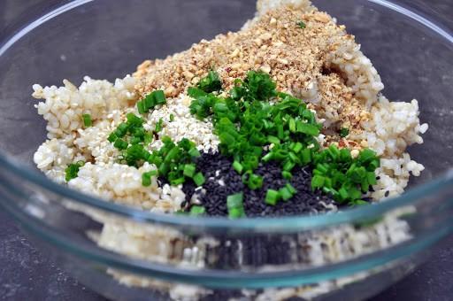 Sushi rice mix