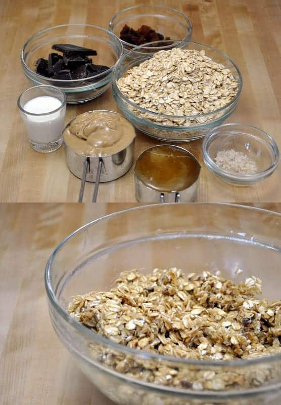 Salty No Bake Peanut Butter Oat Bites
