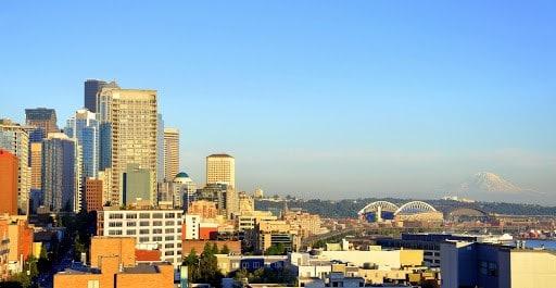 Daytime Seattle Skyline
