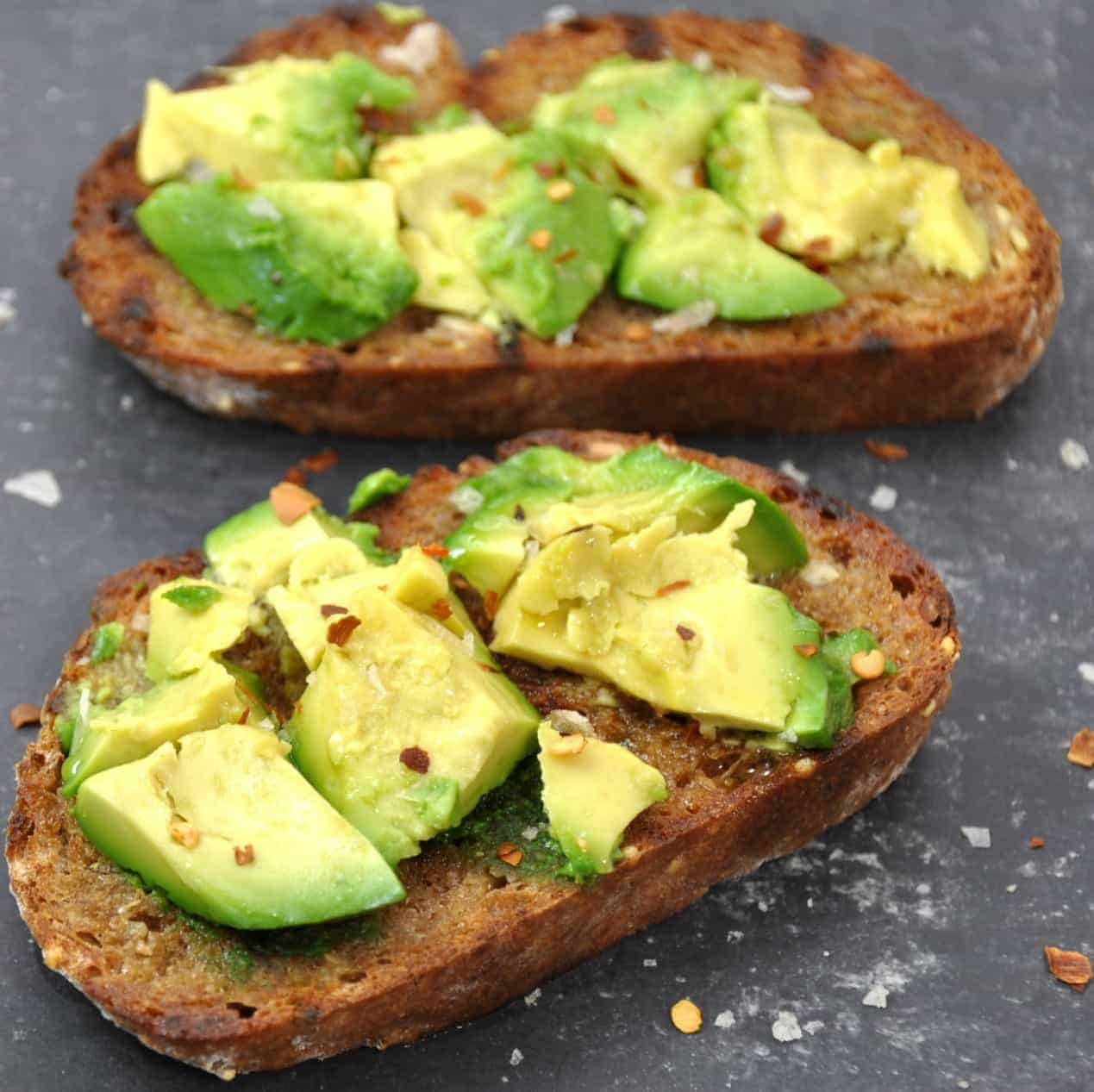 Grilled Avocado Toast