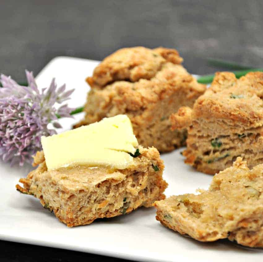 Gruyere and Chive Scones