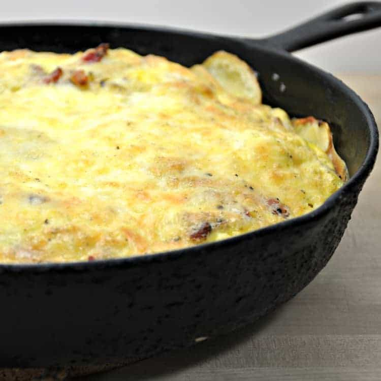 Cast Iron Cooked Frittata