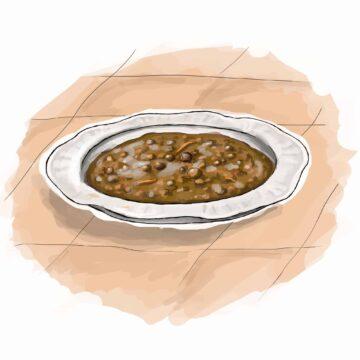 Farro and Borlotti Bean Soup