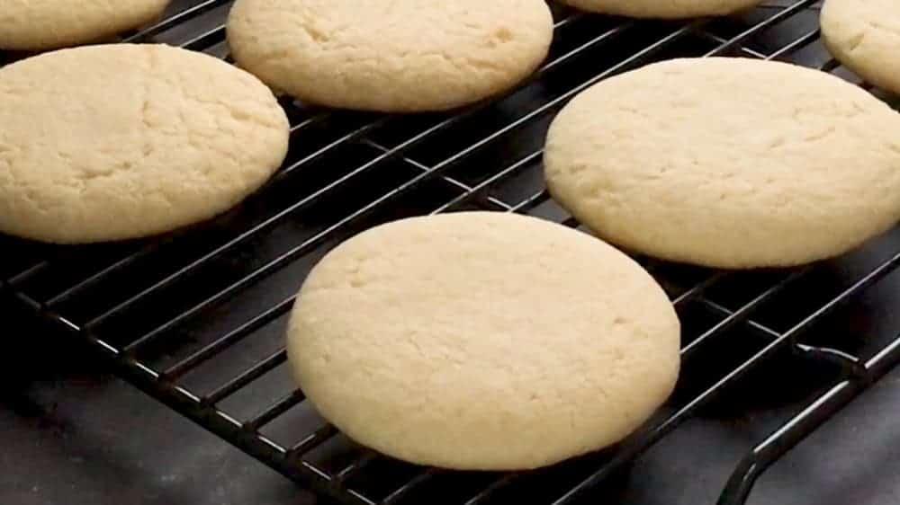 soft sugar cookies plain