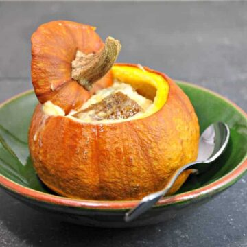 Individual Pumpkin Tureen