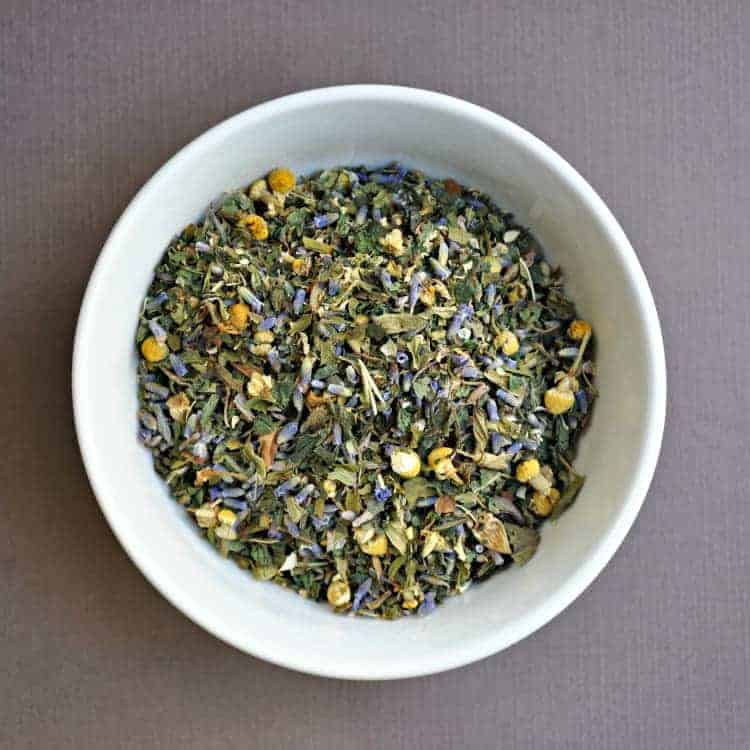 Lavender Chamomile Mint Tea
