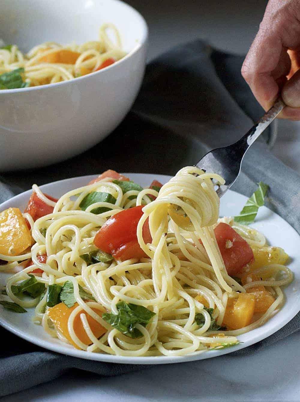 Raw Pasta Sauce Ingredients