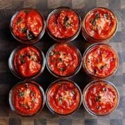 Slow Roasted Tomatoes in Jars