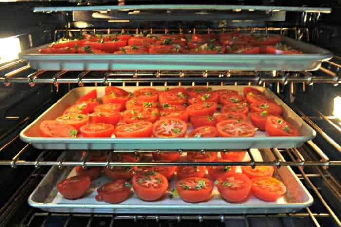 Tomatoes In The Oven