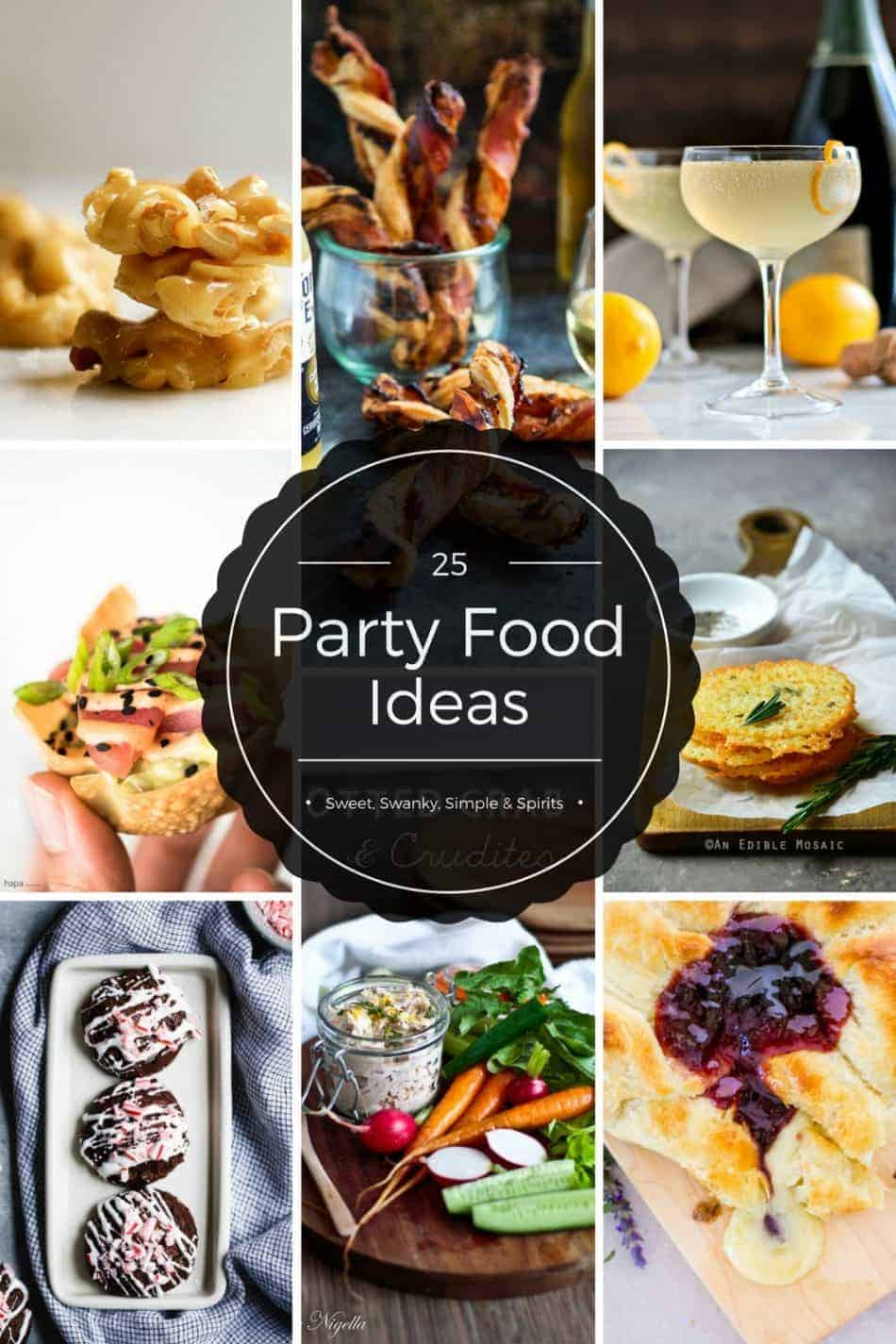 The Best Party Food Ideas | Appetizer Recipes | Cocktail Party Food