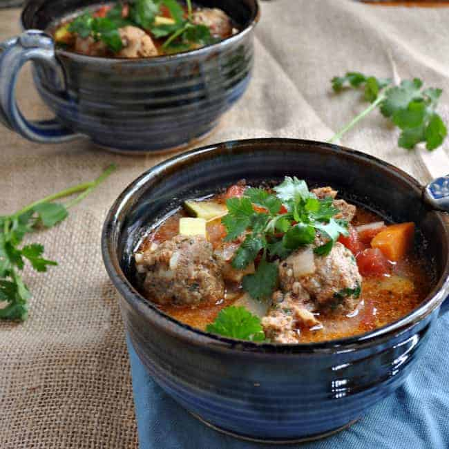 Albondigas Soup - Pinch and Swirl