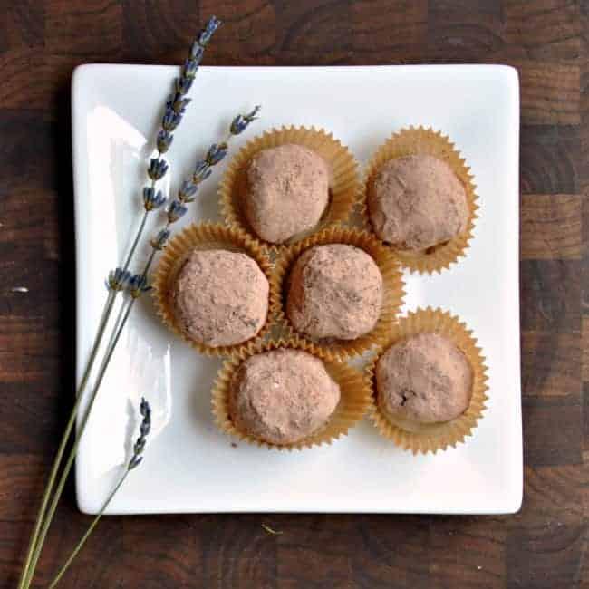 Dark-Chocolate-Lavender-Blueberry-Truffles-