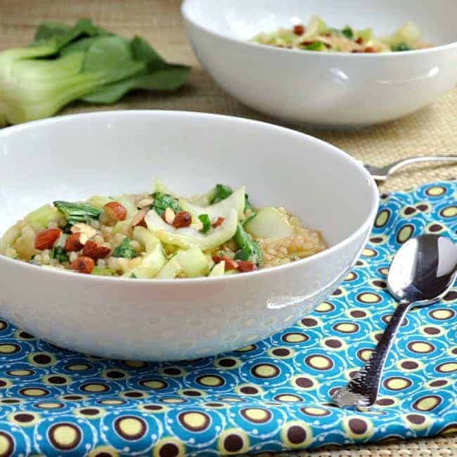 Ginger-Soy-Israeli-Couscous-with-Baby-Bok-Choy-and-Tamari-Almonds