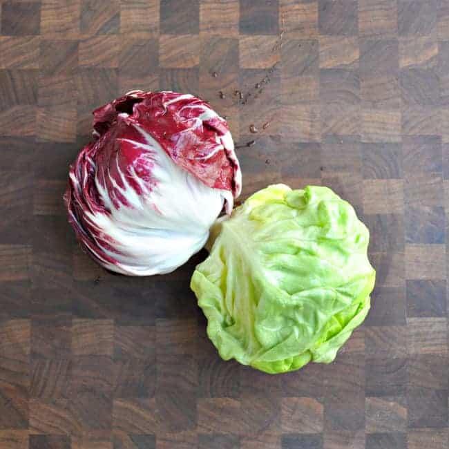 Radicchio-Butter-Lettuce