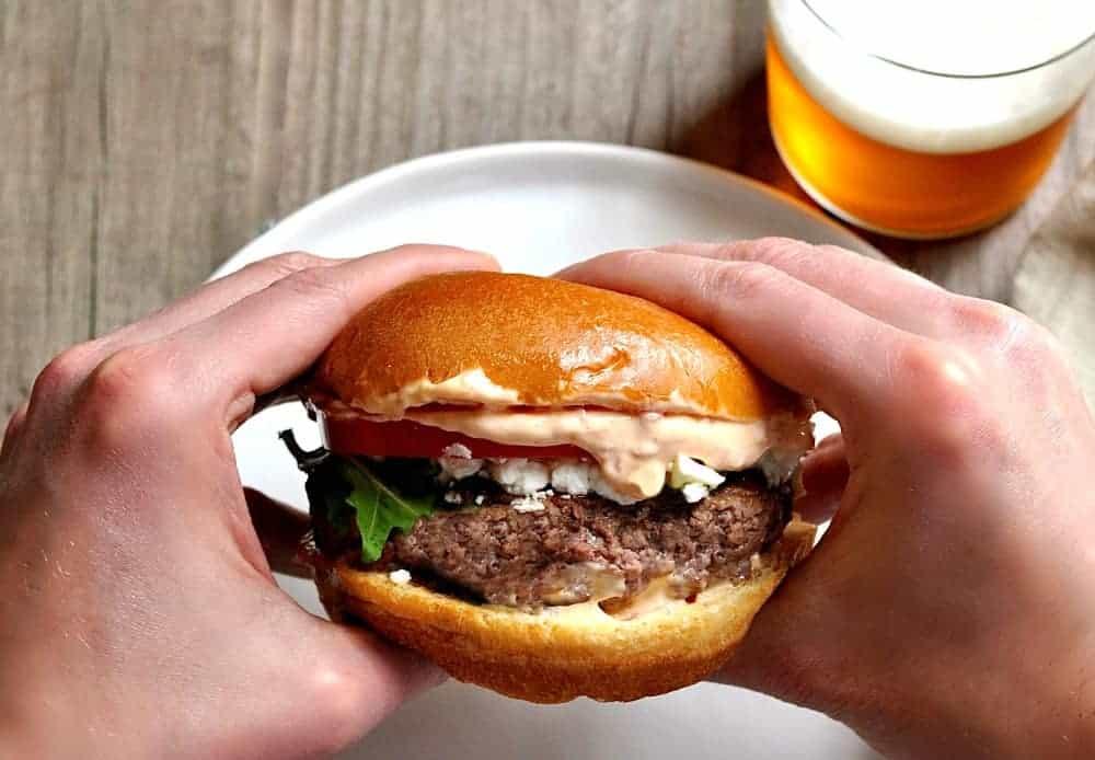 Ultimate Lamb Burger Recipe