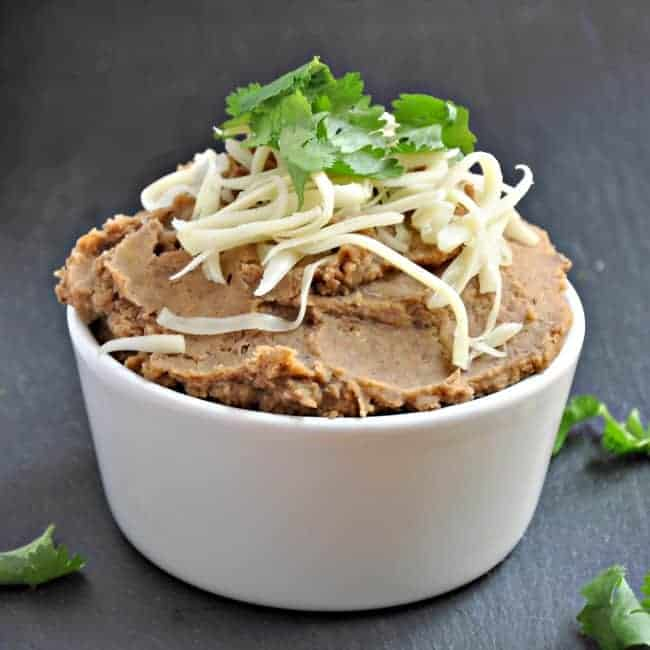 Easy recipe for homemade refried beans
