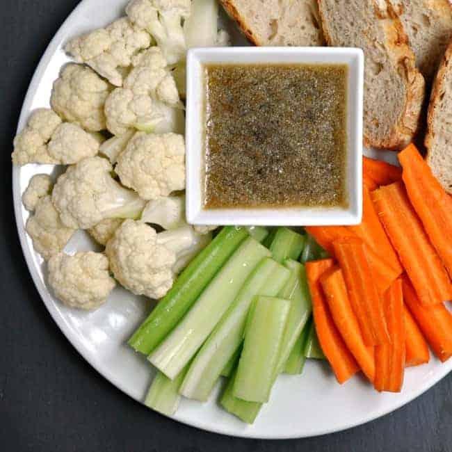 Paleo Bagna Cauda Vegetable Toss | The Best Paleo Recipes
