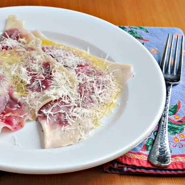 Ravioli With Beets, Butter And Poppy Seeds Recipes — Dishmaps