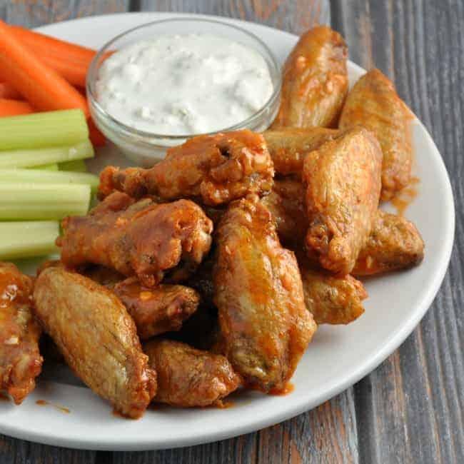Crispy Baked Chicken Wings Baking Powder Test Kitchen