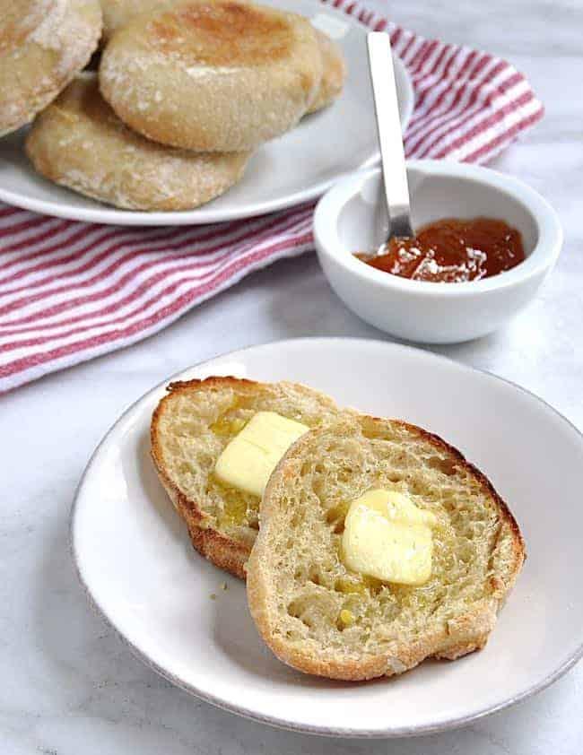 Homemade English Muffins - Pinch and Swirl