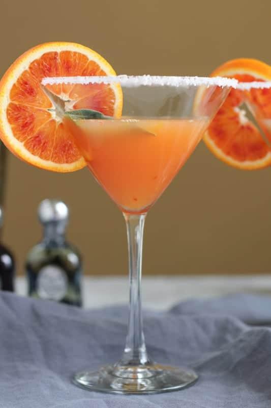 Blood Orange Margarita from Hip Foodie Mom