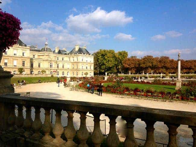 Luxembourg Garden and Senate