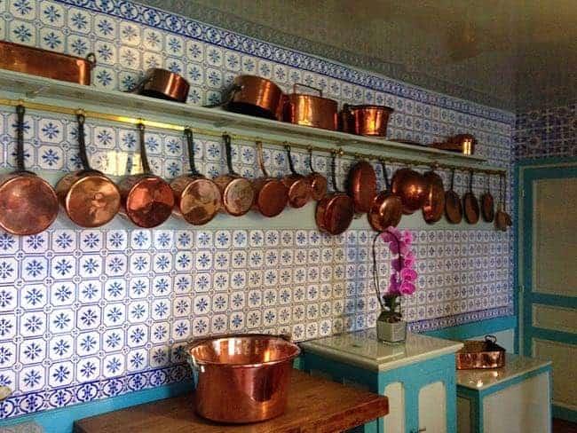 Monet - copper pot collection