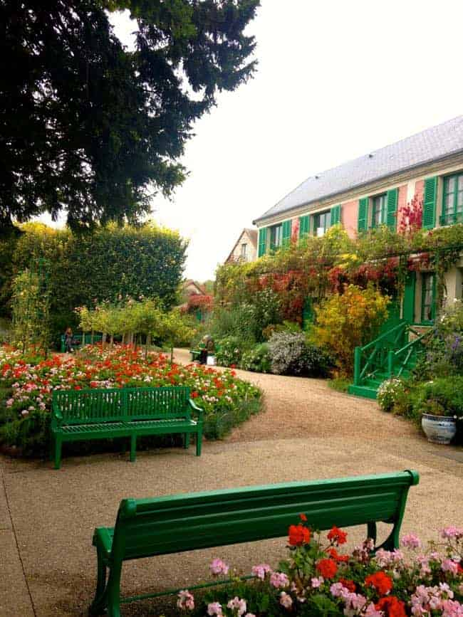 Monets house and garden
