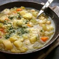 Vegetable Soup au Pistou
