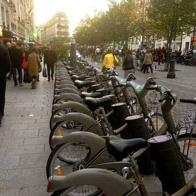 Velib full bike station sq