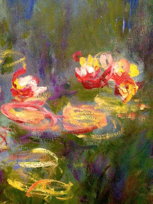 Orangerie Monet Detail