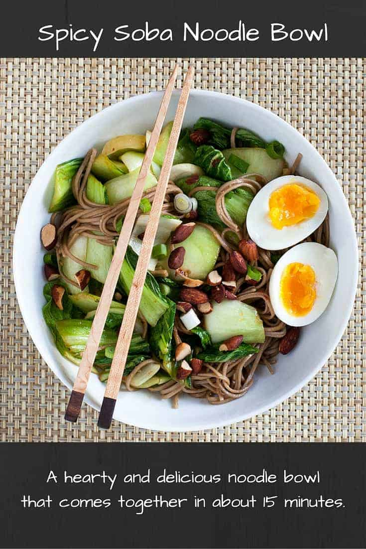 Spicy Soba Noodle Bowl