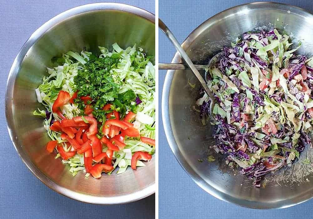 Slaw Dressed and Undressed