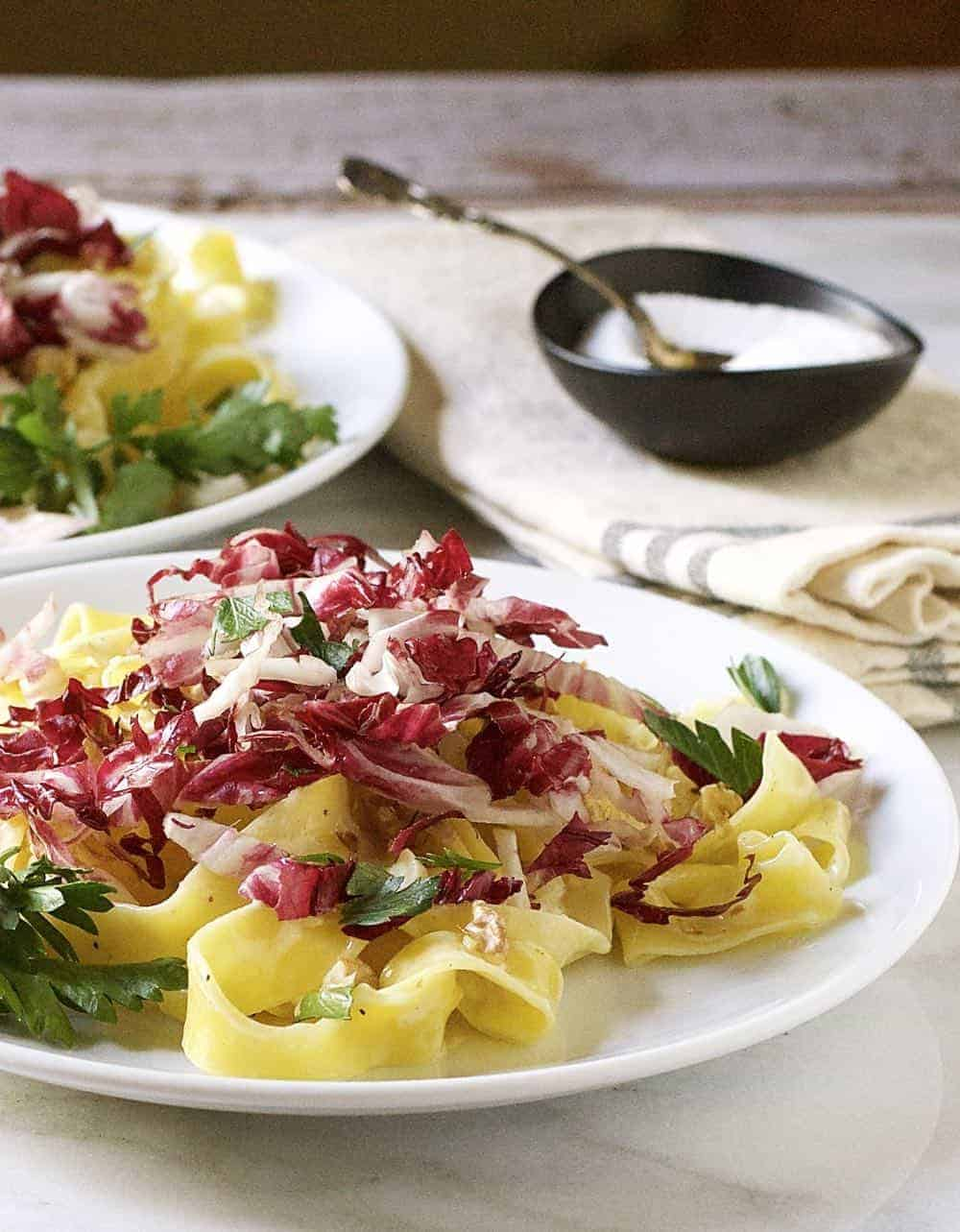 creamy-pappardelle-with-radicchio