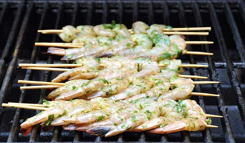 Spicy Shrimp on the Grill
