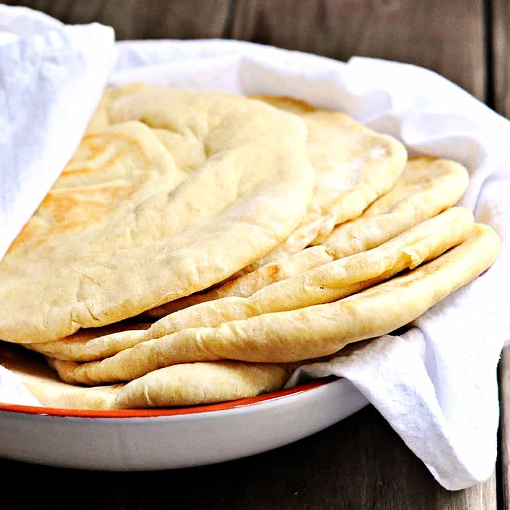 Easy No Fail Pita Recipe Pinch And Swirl