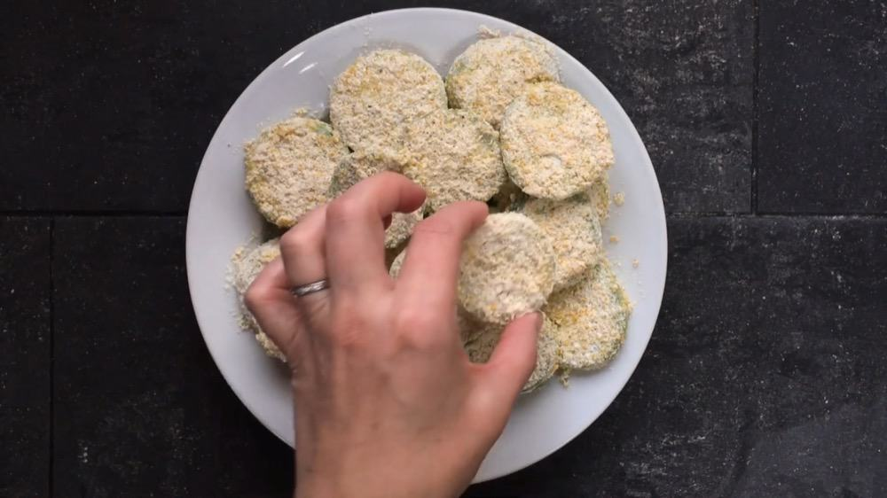 Breaded Tomatoes