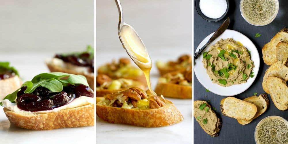Several Crostini Recipes