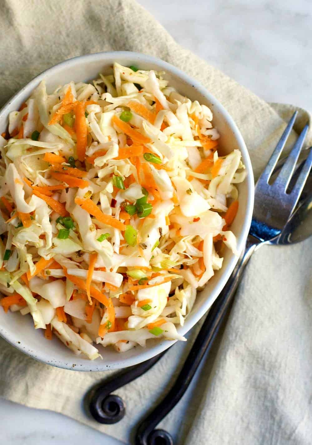 Curtido Spicy Slaw from El Salvador