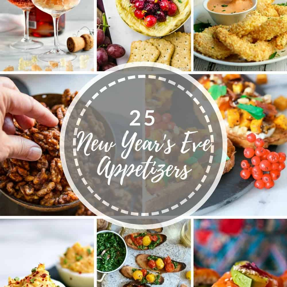 25 Easy New Year's Eve Appetizer Recipes - Pinch and Swirl