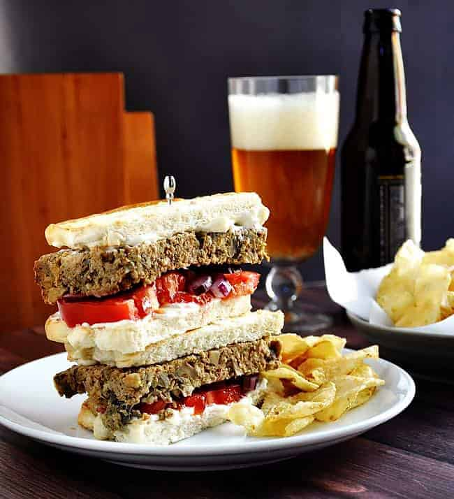 Turkey Meatloaf Sandwich
