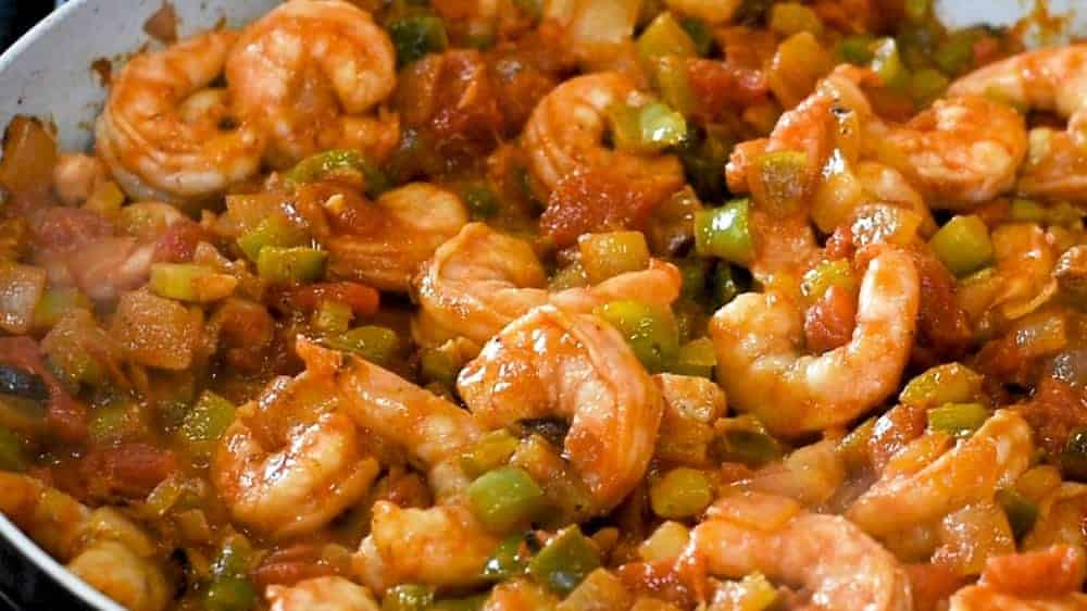 Shrimp Creole Ready to Serve