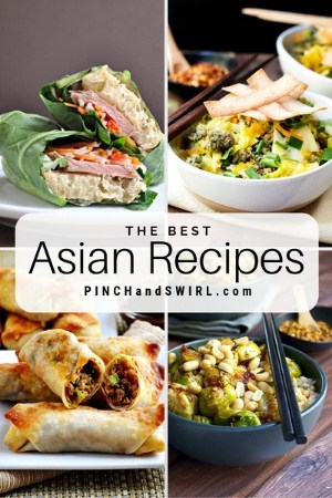 grid of asian dish images